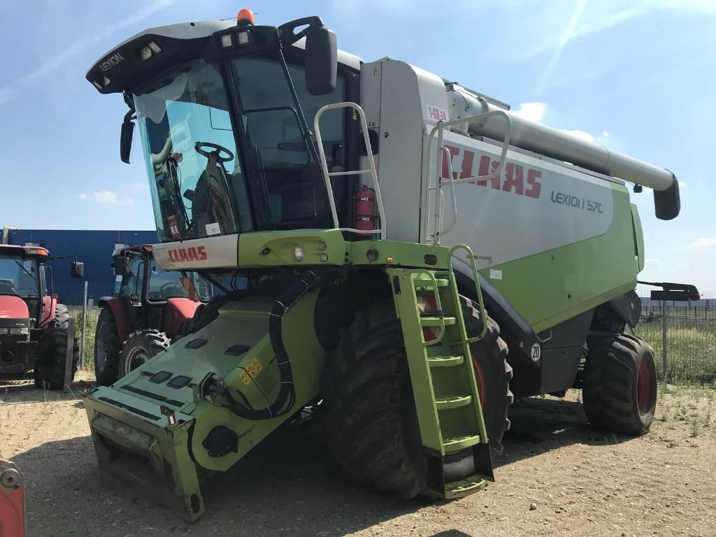 CLAAS Lexion 570, Combine de secerat, Utilaje agricole