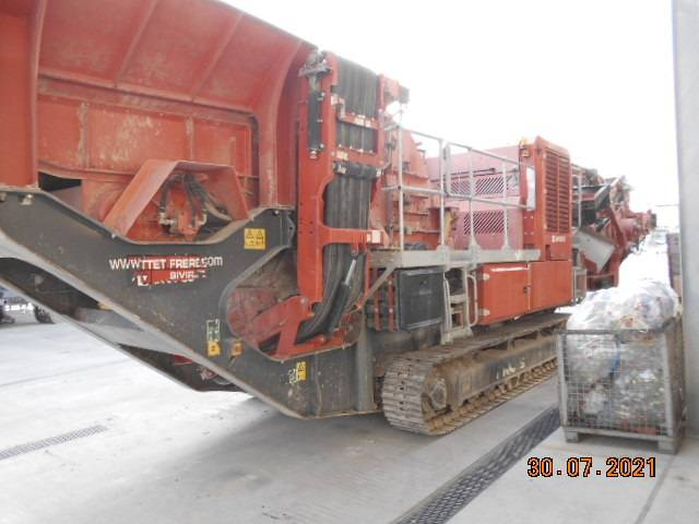 Terex-Finlay I 100 RS, Mobile crushers, Construction Equipment