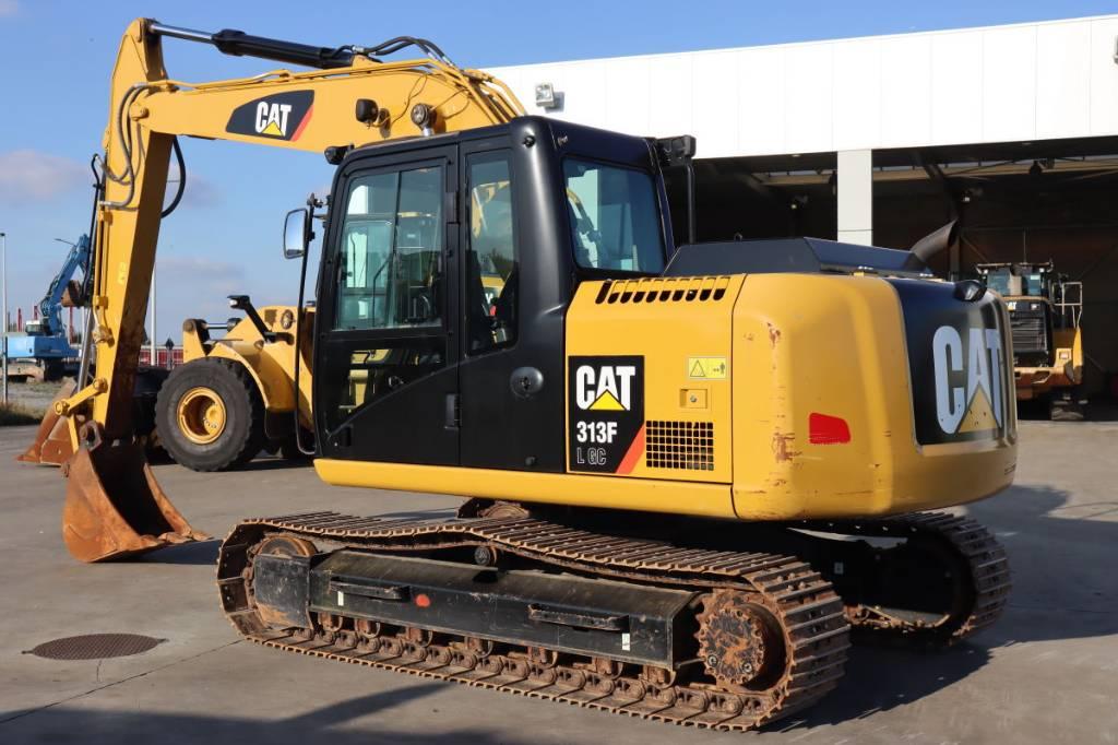 Caterpillar 313 F LGC, Crawler Excavators, Construction Equipment