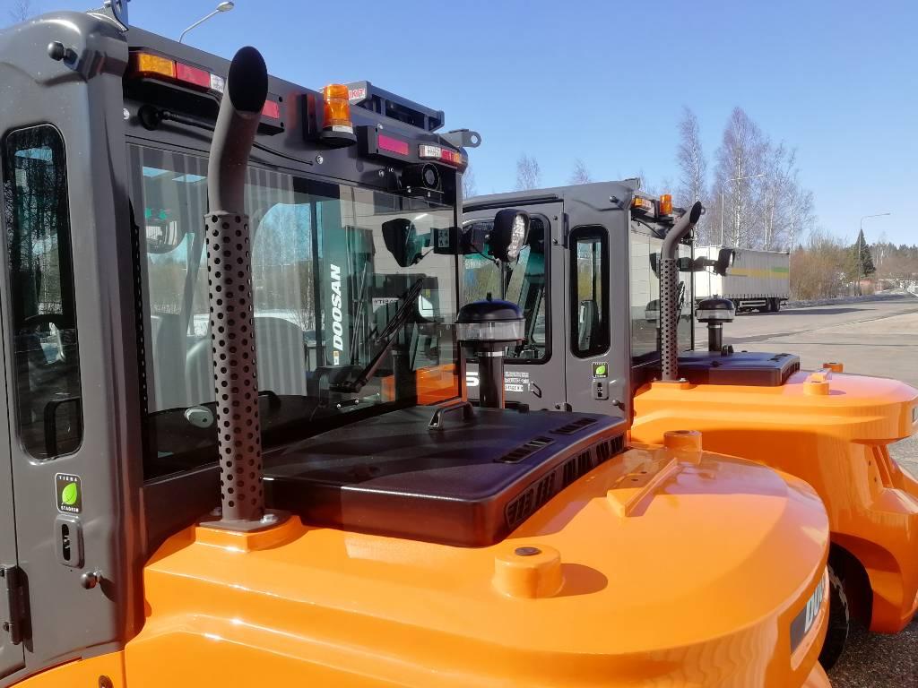 Doosan D50C-7, Dieseltrukit, Materiaalinkäsittely