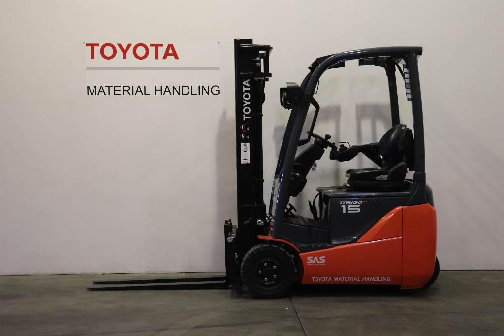 Toyota 8 FB E 15T, Electric forklift trucks, Material Handling
