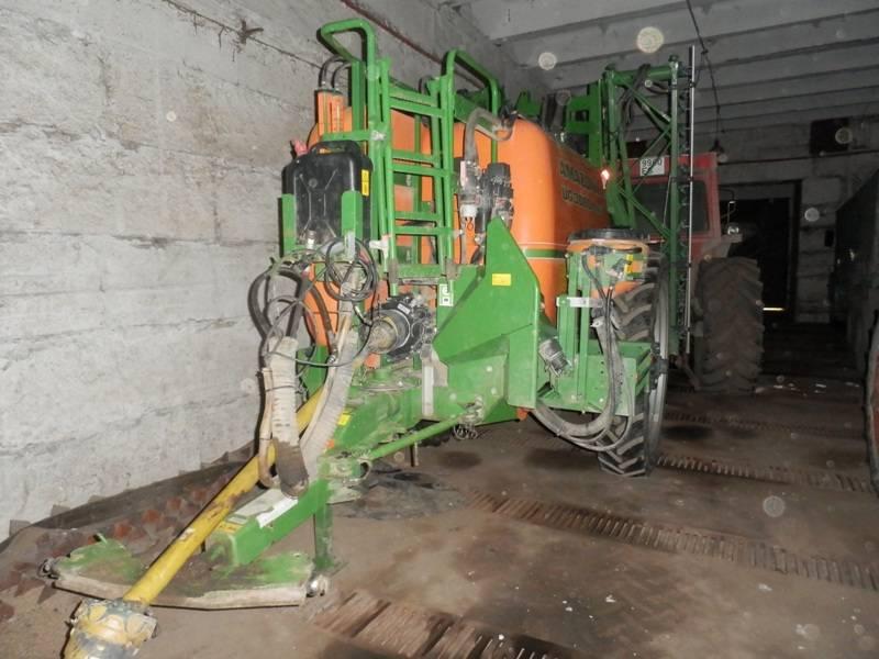 Amazone UG 3000 Nova, Haagispritsid, Põllumajandus
