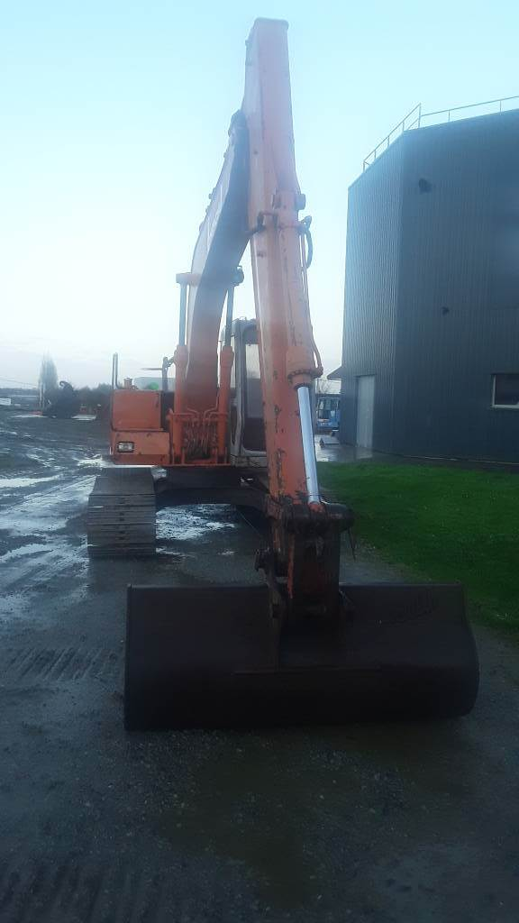 Hitachi EX 120, Crawler Excavators, Construction Equipment