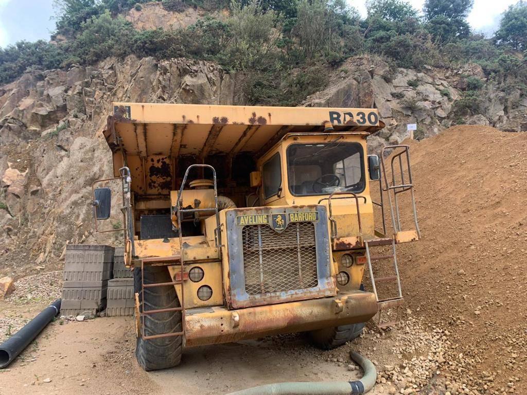 Aveling Barford RD30, Rigid dump trucks, Construction