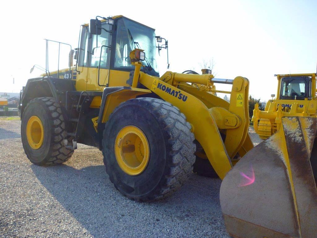 Komatsu WA 430-6, Wheel Loaders, Construction Equipment
