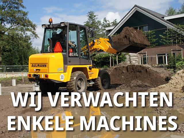 Ahlmann Zwenklader AZ 45e, Wielladers, Bouw
