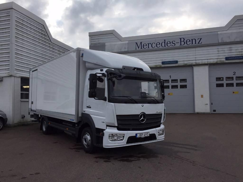 Mercedes-Benz 916 Atego med transport skåp, Skåpbilar, Transportfordon