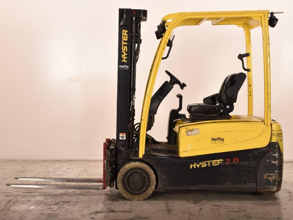 Hyster J2.0XNT, Heftrucks overige, Laden en lossen