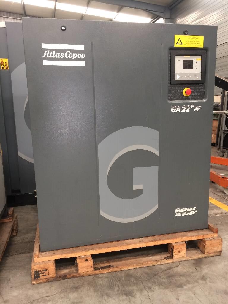 Atlas Copco GA 22+ FF, Compressors, Industrial
