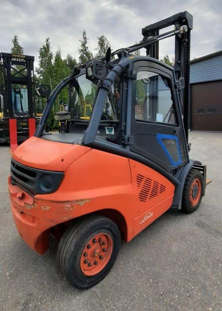 Linde H40D, Dieseltrukit, Materiaalinkäsittely