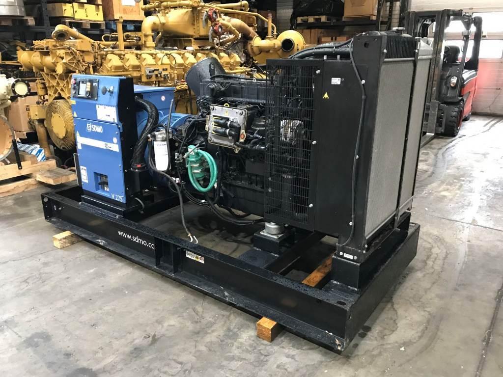 Sdmo V 275 - 220 kW - DPH 105502, Diesel Generators, Construction