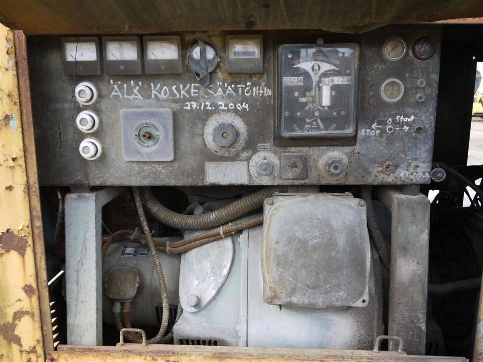 Volvo/Esab generaattori, Dieselgeneraattorit, Maarakennus