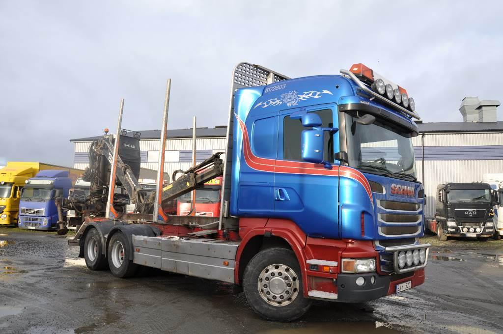 Scania R480 LB 6X4 HNB, Timmerbilar, Transportfordon