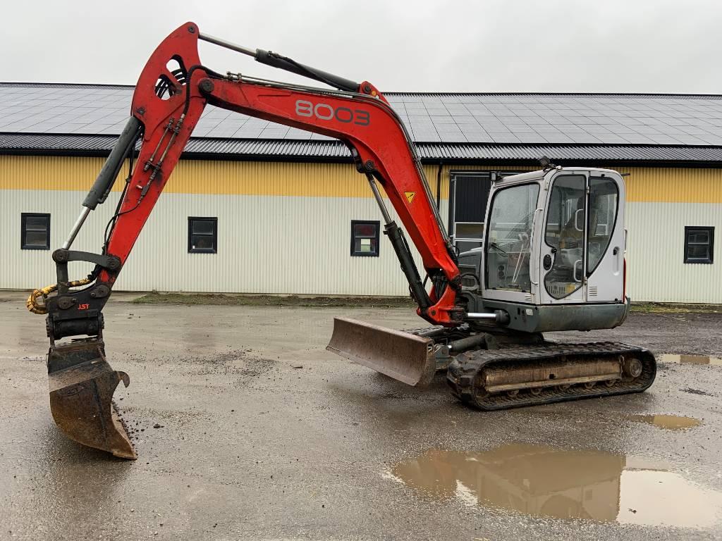 Neuson 8003 RD grävmaskin, powertilt, Midigrävmaskiner 7t - 12t, Entreprenad