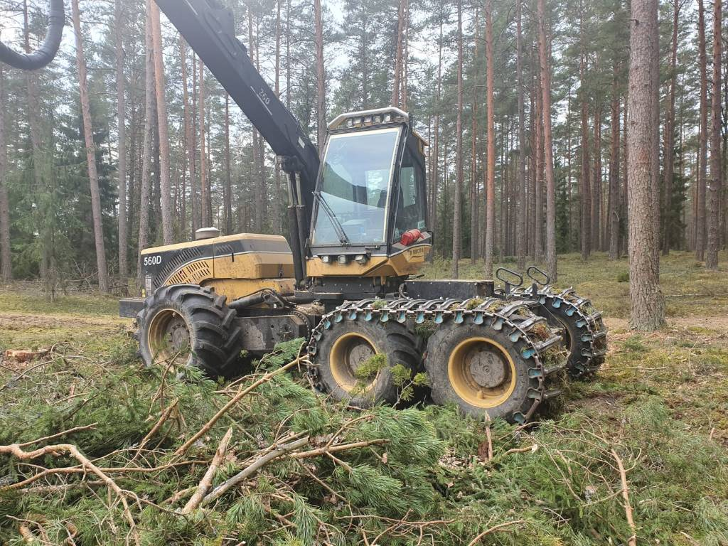 Eco Log 560 D, Harvesters, Forestry