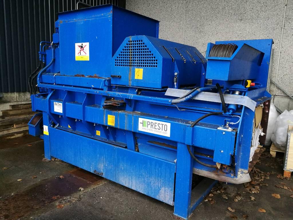 [Other] Kampwerth/Presto CC 36 - kanalballepresser, Waste compressors, Construction