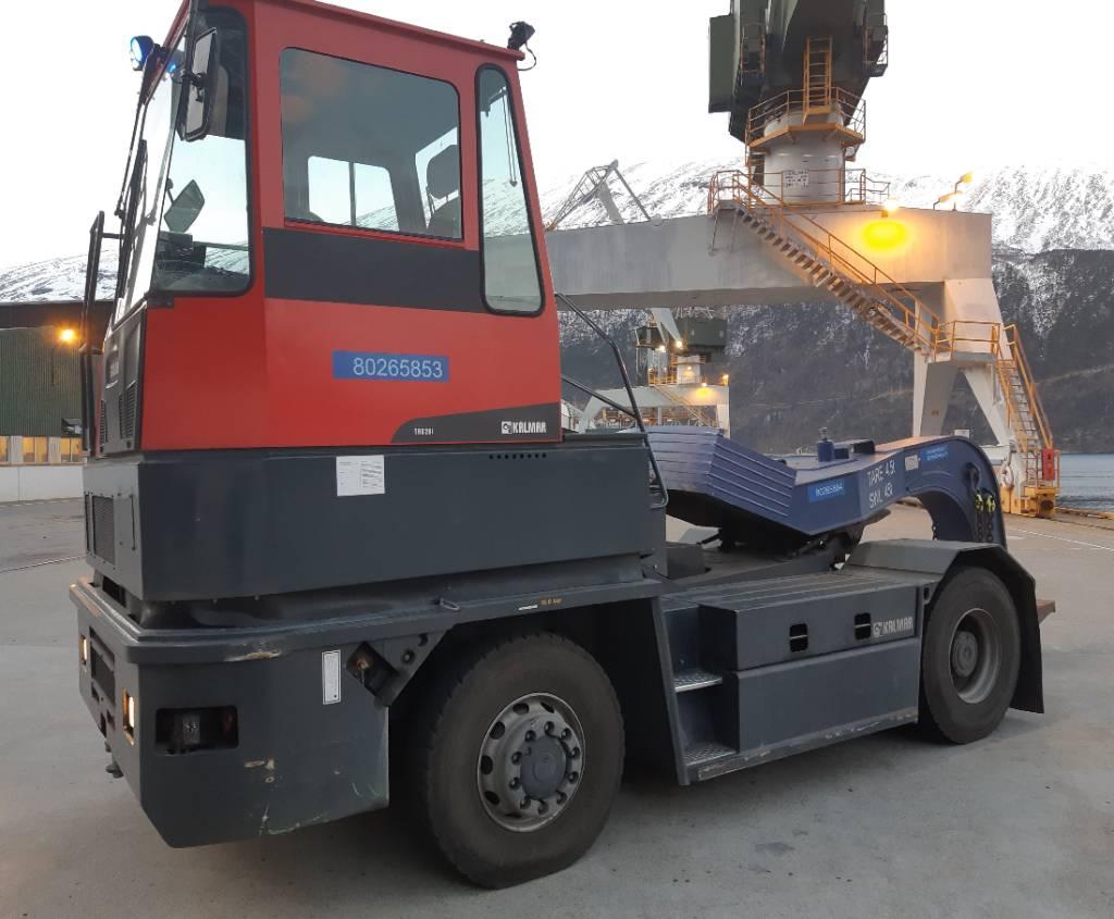 Kalmar TR626i, Terminaalitraktorit, Materiaalinkäsittely