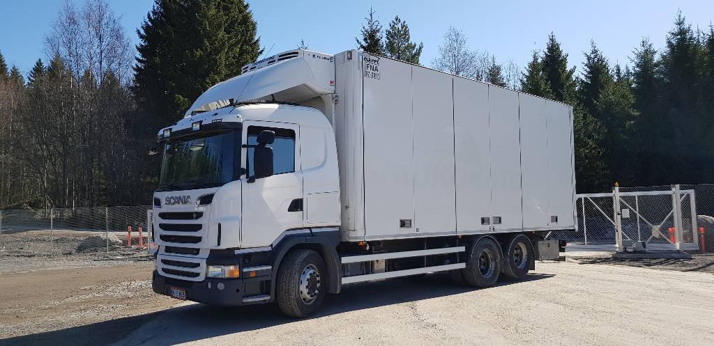 Scania R 500, Kylmä-/Lämpökori kuorma-autot, Kuljetuskalusto