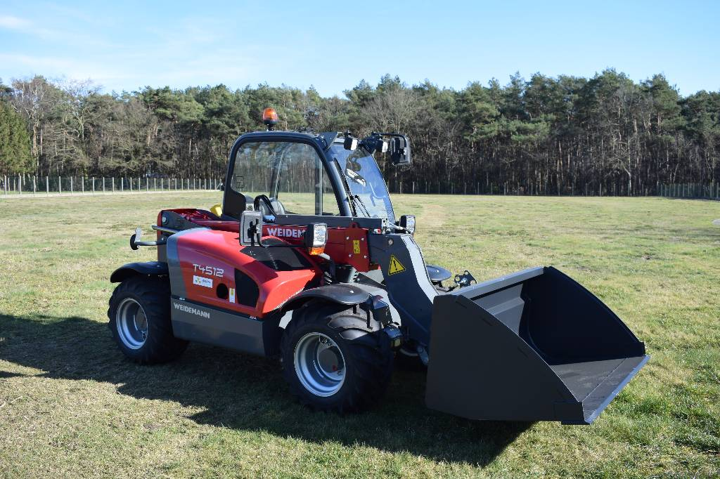 Weidemann T4512, Verreikers voor landbouw, Landbouw
