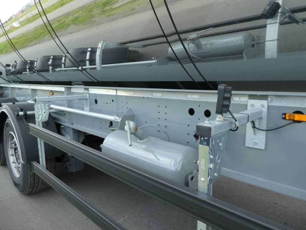 Kel-Berg T250K Asfalt Semi, Andre hengere, Transport
