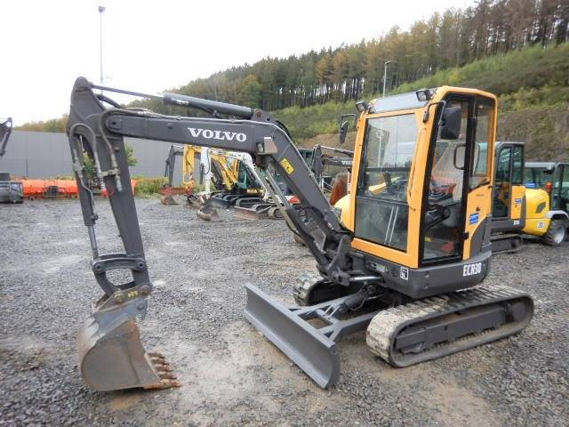 Volvo ECR 38, Mini Excavators <7t (Mini Diggers), Construction Equipment