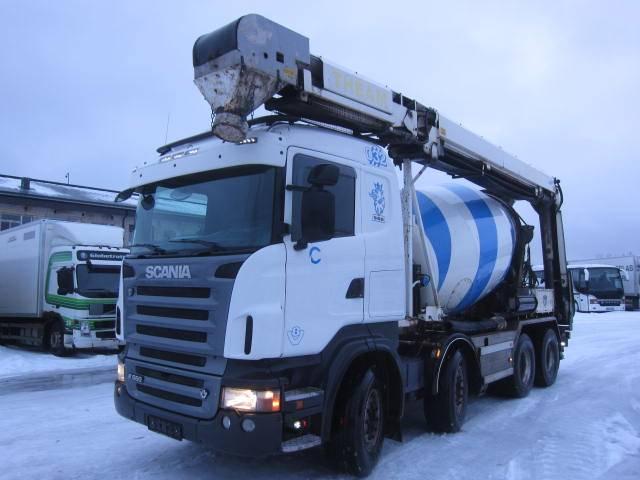 Scania R560 LB8X4 HHZ, Betooniveokid, Transport