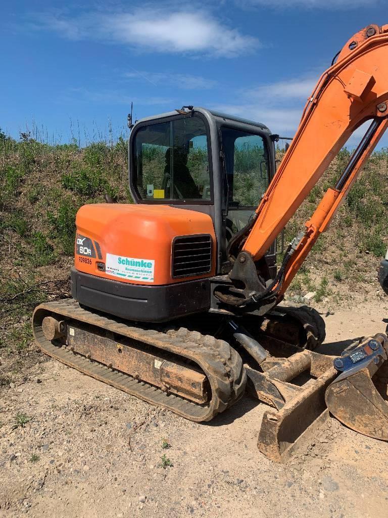 Doosan DX 60 R, Mini digger, Construction Equipment