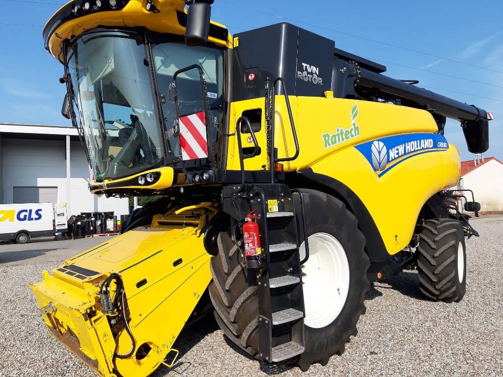 New Holland CR 8.80, Kombajny zbożowe, Maszyny rolnicze
