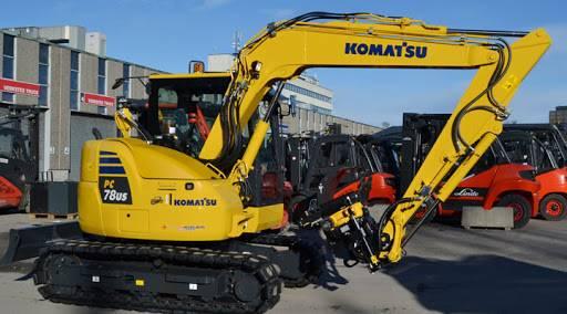 Komatsu PC78US-10, Midigrävmaskiner 7t - 12t, Entreprenad