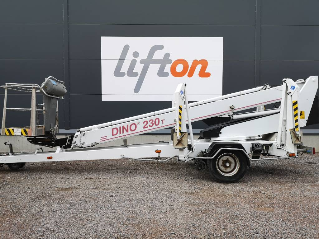 Dino 230 T, Skylift, Entreprenad