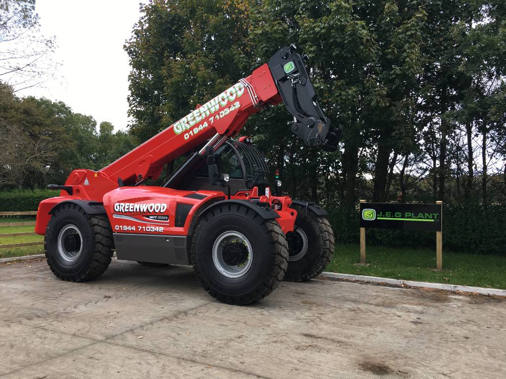 Manitou MHT 10230, Telescopic handlers, Construction