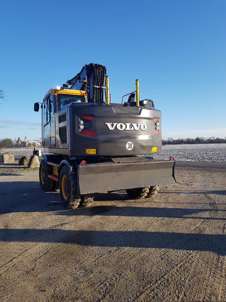 Volvo EW 160 E Fabriksny, Hjulgrävare, Entreprenad