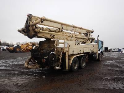 Schwing 32M, Boom Pumps, Construction Equipment