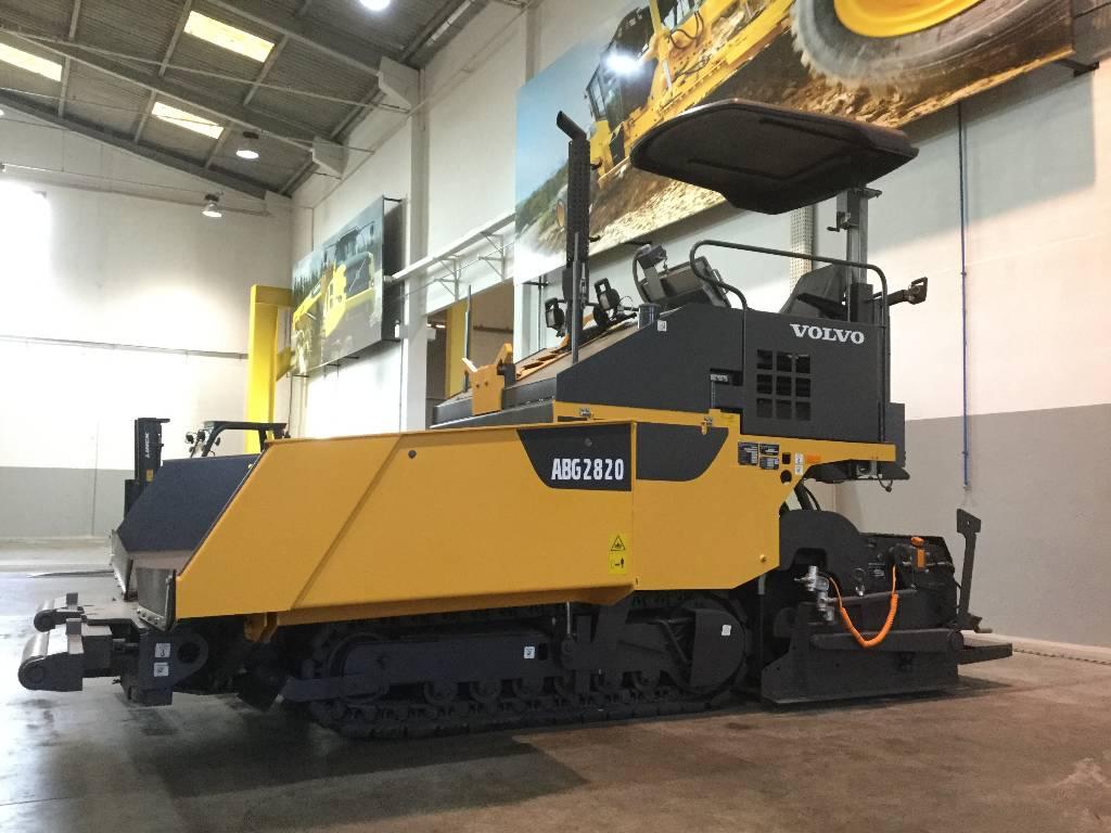 Volvo ABG 2820, Asphalt pavers, Construction Equipment