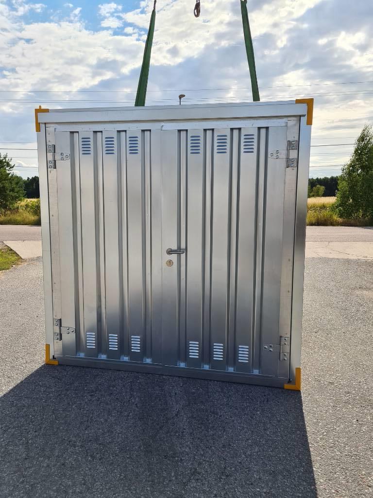 [Other] Container Monterbar 2 x 2m, Förrådscontainers, Transportfordon