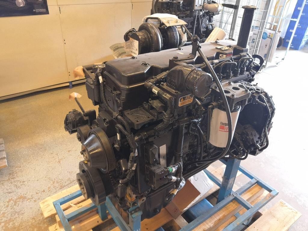 Cummins moottori QSB6.7, Moottorit, Maarakennus