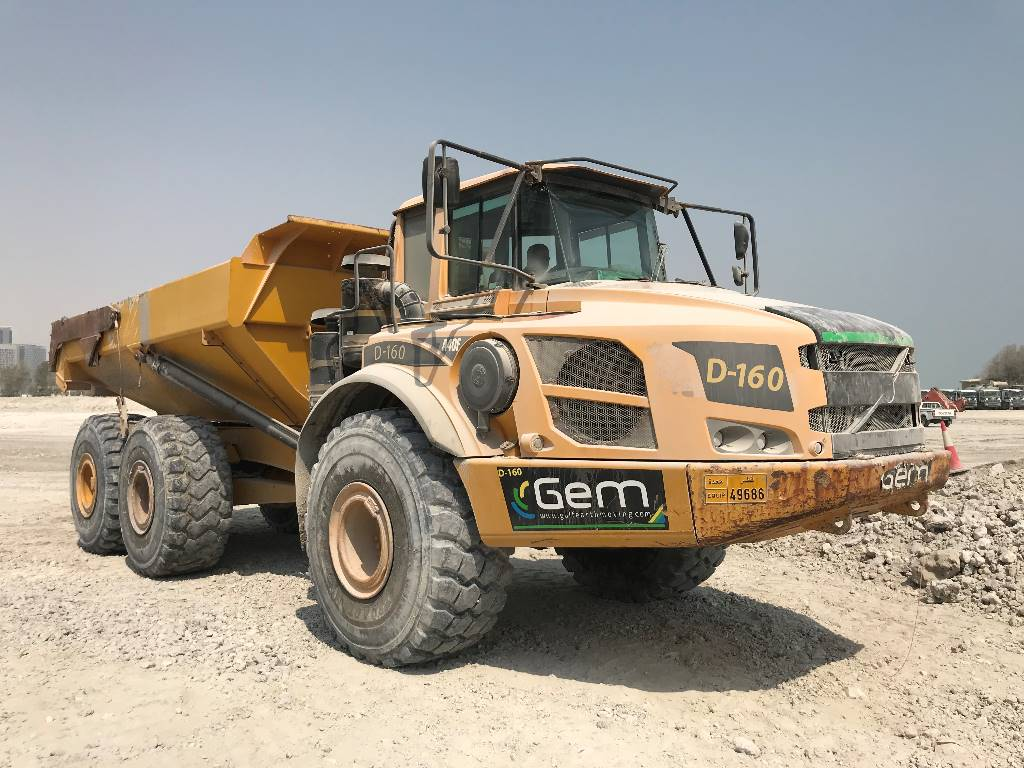Volvo A 40 F, Articulated Dump Trucks (ADTs), Construction