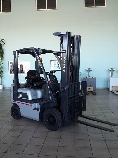 nissan y1d15 - diesel trucks - material handling