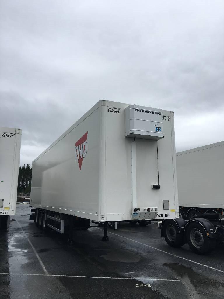 Ekeri Korkea rahtikaappi + lämmitin, vm-13, Temperature controlled semi-trailers, Transportation