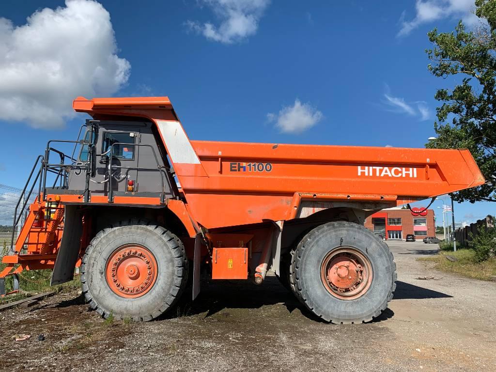 Hitachi EH 1100-5, Rigid dump trucks, Construction