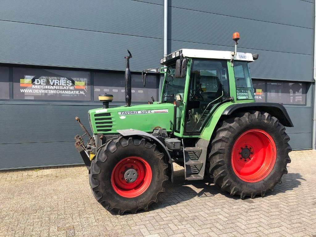 Fendt 509 C, Tractoren, Landbouw