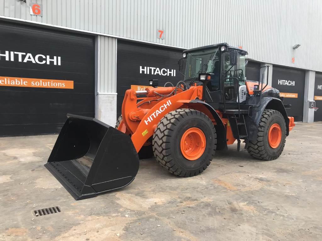 Hitachi ZW 220-5 B, Wheel Loaders, Construction Equipment