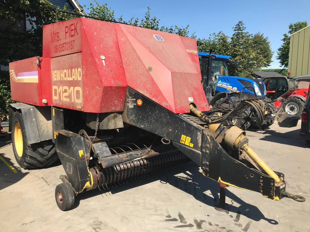 New Holland D1210C, Vierkante balenpers, All Used Machines