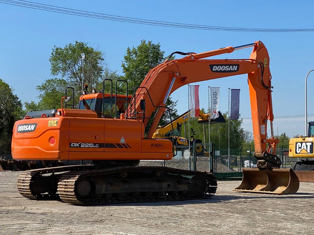 Doosan DX 225 LC-3, Koparki gąsienicowe, Maszyny budowlane