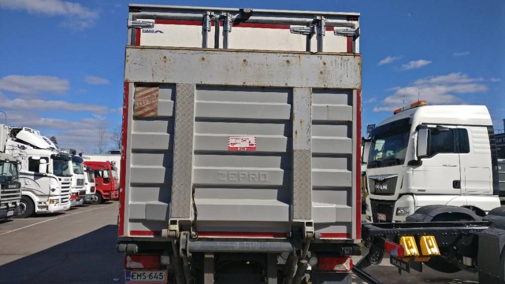 Scania P 250 4X2, Kylmä-/Lämpökori kuorma-autot, Kuljetuskalusto