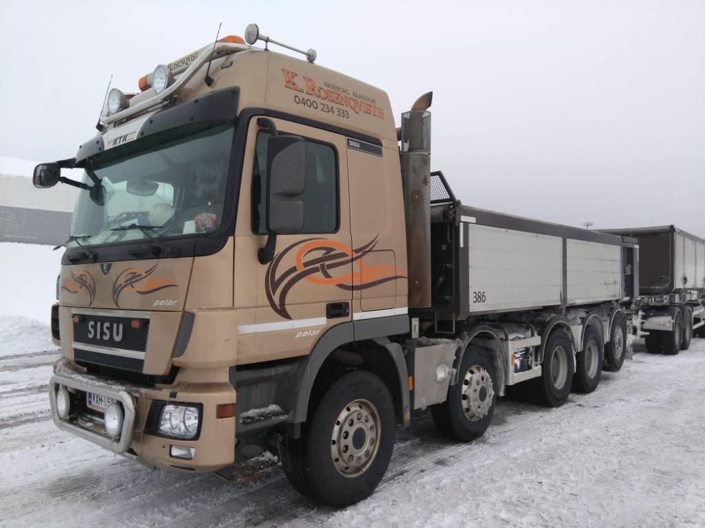 Sisu DK16M 10x4, Tipper trucks, Transportation