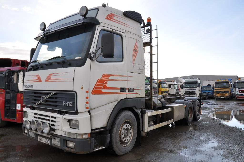Volvo FH12 6X2 380, Lastväxlare/Krokbilar, Transportfordon
