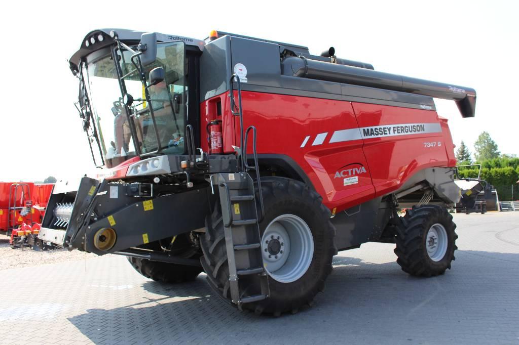 Massey Ferguson 7347 S Activa MCS, Kombajny zbożowe, Maszyny rolnicze