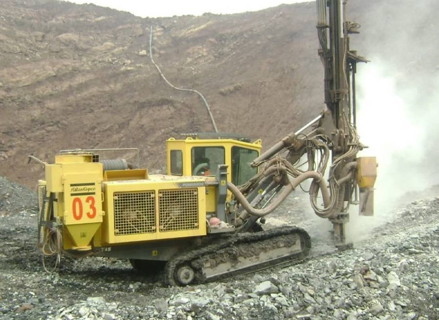 Atlas Copco PowerROC T45 -12, Surface drill rigs, Construction Equipment