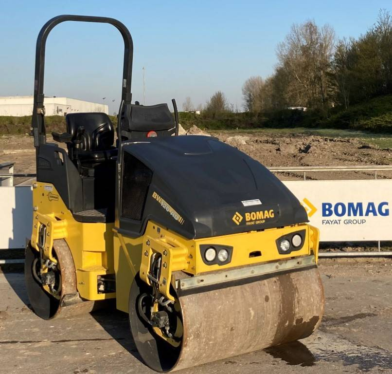 Bomag BW120 AD-5 ZELFRIJDENDE TRILWALS, Twin drum rollers, Construction